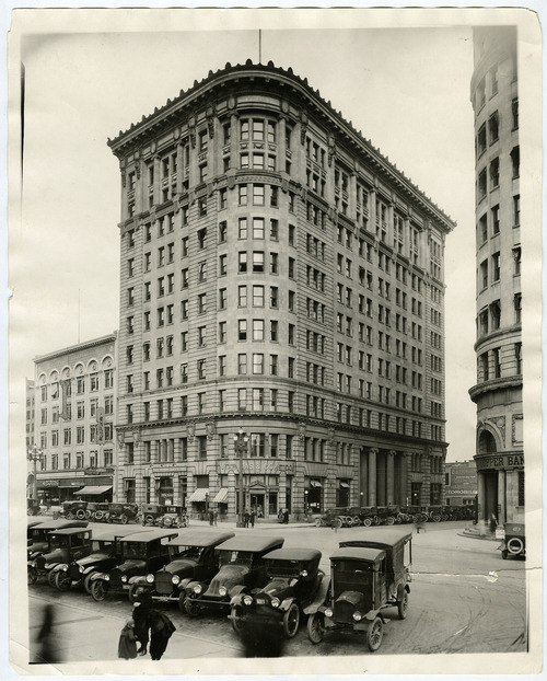 Tribune file photo  Boston Building, Salt Lake City, date unknown.