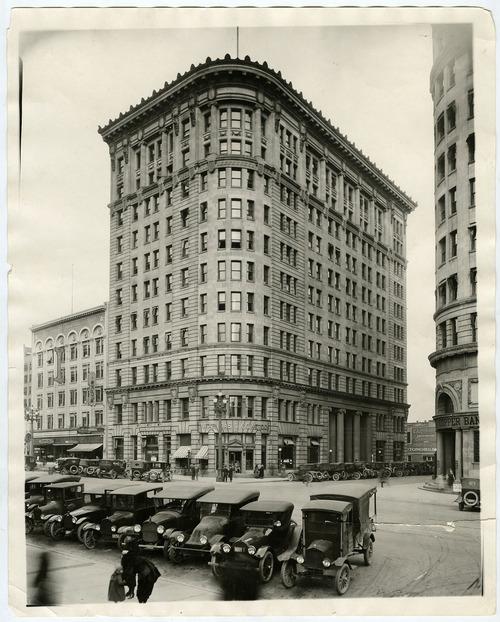 Tribune file photo  Boston Building, Salt Lake City, date unknown.