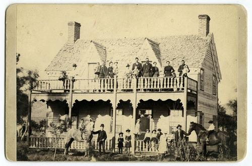 Tribune file photo  W.L.H. Dotson home in Minersville, Utah, 1898.