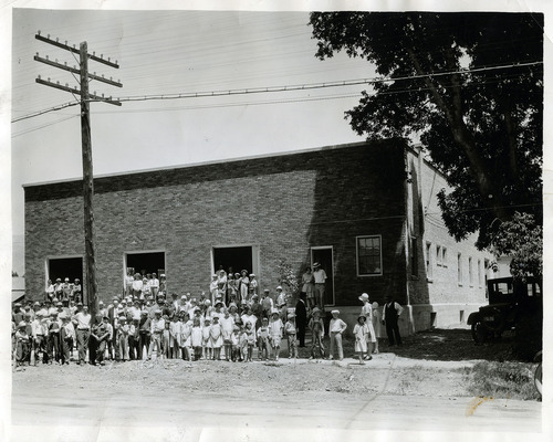 Tribune file photo  The Utah Poultry Producers Coop Association building in American Fork. Date unknown.