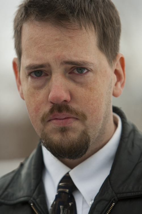 Tribune file photo Josh Powell listens during a press conference at West View Park in December 2009, soon after Susan Powell, 28, was seen last.
