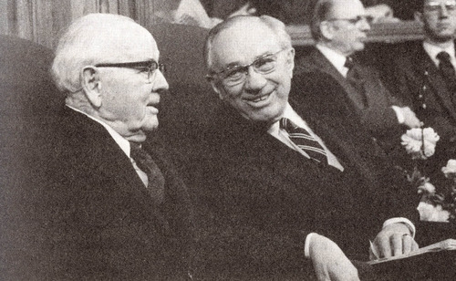 Courtesy photo Early in its history, church leaders stopped conferring the priesthood on black males of African descent. A revelation -- removing all restrictions with regard to race that once applied to the priesthood -- came to church President Spencer W. Kimball (shown with Gorden B. Hinckley) and was affirmed to other church leaders in the Salt Lake Temple on June 1, 1978.
