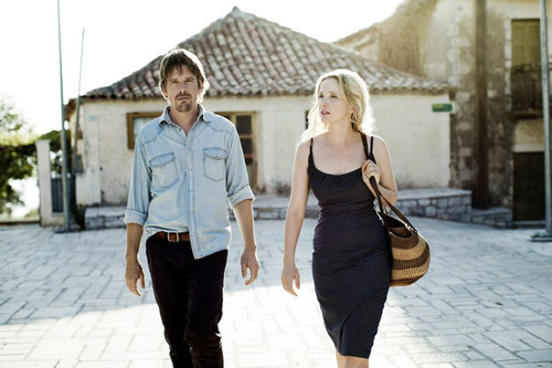 """Courtesy of Sony Pictures Classics """"Before Midnight"""" • Ethan Hawke and Julie Delpy reprise their roles as Jesse and Celine, who met in 1995's """"Before Sunrise"""" and again in 2004's """"Before Sunset."""""""