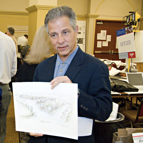 Andres Duany was among a group of city-oriented thinkers who visited Salt Lake City recently. Duany praised traditional Mormon pioneer city planning, but said that Utah's cities have not adhered to the city planning principles they were founded on. Courtesy image
