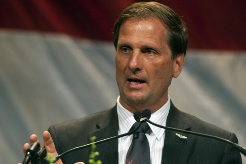 Chris Detrick  |  Tribune file photo Congressman Chris Stewart says he can not support any immigration legislation that includes a pathway to citizenship for millions of people now in the country illegally. He said he's willing to compromise and grant legal status.