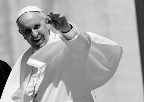 Pope Francis, shown here after his general audience this week at St. Peter's Square, is focusing his pontificate on reaching out to the poor and isolated. (AP Photo/Alessandra Tarantino)
