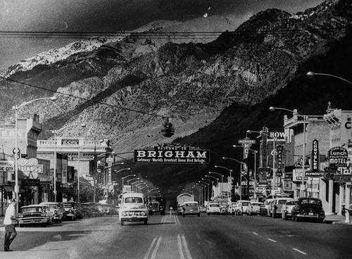 Tribune Archives Brigham City, Utah, in 1959