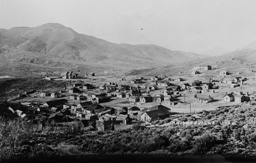 """Tribune Archives Knightsville, Utah. Mining town named after founder """"Uncle"""" Jesse Knight, one of the famous mining men of his era."""