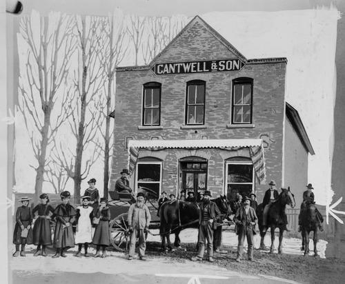 Tribune Archives Smithfield, Utah, 1890
