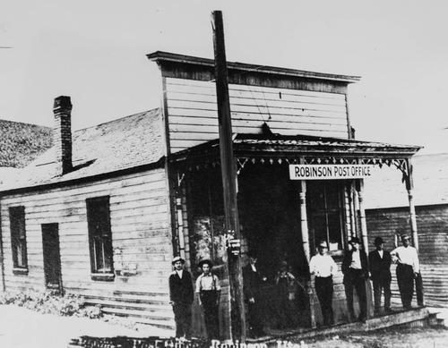 Tribune Archives Post Office at Robinson, Utah