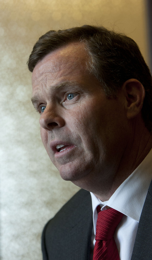 Steve Griffin | The Salt Lake Tribune Utah Attorney General John Swallow