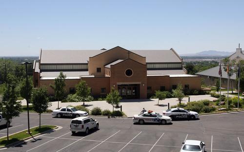Rick Egan  | The Salt Lake Tribune   A man was shot in Saint James Catholic Church in Ogden during Mass on Sunday, June 16, 2013.