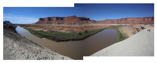 Francisco Kjolseth     The Salt Lake Tribune A view of the Green River as seen during the Fort Bottom hike on the White Rim Trail in Canyonlands National Park in May 2013.