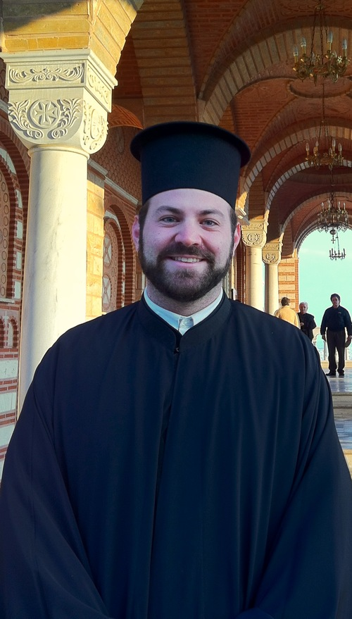 | Courtesy Deacon Chrysostomos Gilbert is the son of Father Matthew Gilbert, of Holy Trinity Greek Orthodox Church in Salt Lake City