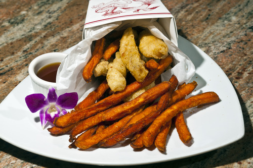 Restaurant review japanese pub fare separates ichiban for Fish and chips salt lake city