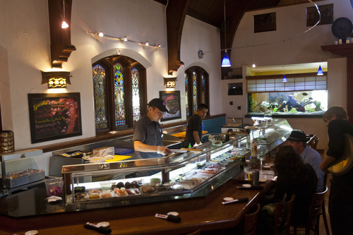 Chris Detrick The Salt Lake Tribune Ichiban Sushi One Of Downtown City S