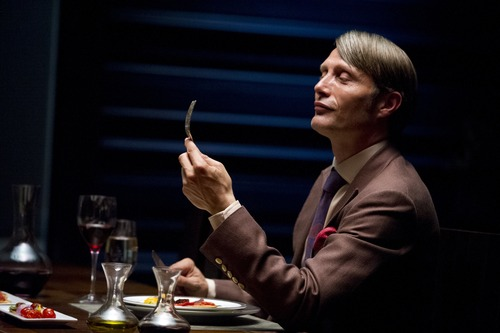 "Courtesy photo Mads Mikkelson stars as Dr. Hannibal Lecter in NBC's ""Hannibal."""