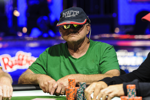 Jayne Furman | WSOP  Layton's Ken Lind, 68, competes during the World Series of Poker Senior Championships early Monday morning at the Rio All-Suite Hotel and Casino in Las Vegas.
