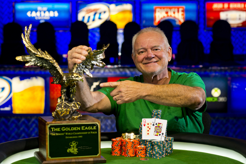 Jayne Furman | WSOP  Layton's Ken Lind, 68, won the World Series of Poker Senior Championships early Monday morning at the Rio All-Suite Hotel and Casino in Las Vegas.