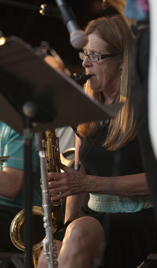 Big Band music under the stars at the Gallivan Center - The Salt