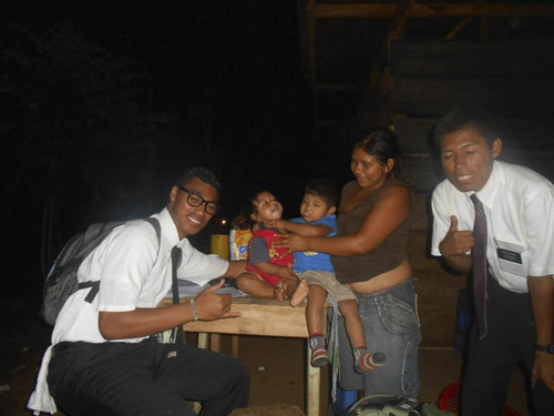 | Courtesy of the Taufa family. Siosiua Andrew Taufa of Salt Lake City died while serving a mission for the Church of Jesus Christ of Latter-day Saints in Guatemala. Taufa was helping to fix someone's leaky roof during a rainstorm Wednesday when he came in contact with a high-voltage power line, his family said Friday. His family remembered the 20-year-old as a shy but funny young man who was eager to serve.