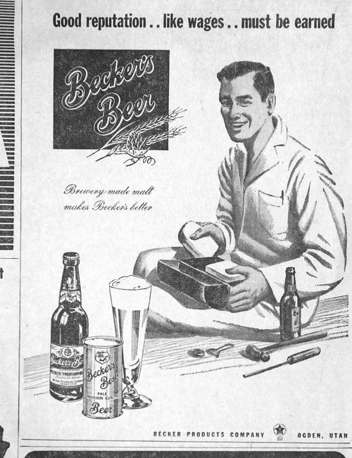 Salt Lake Tribune archives  Newspaper ads from 1947