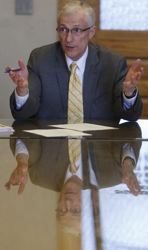 Trent Nelson  |  The Salt Lake Tribune Utah Lt. Governor Greg Bell