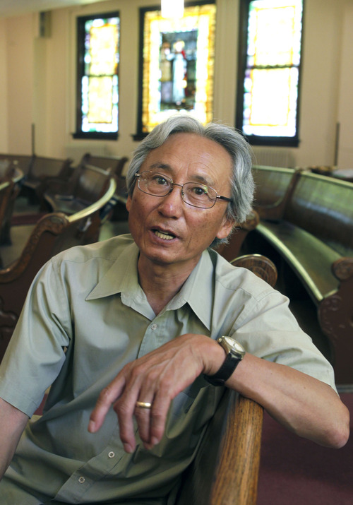Al Hartmann  |  The Salt Lake Tribune The Rev. Eun-sang Lee, of the First United Methodist Church in Salt Lake City, is an active member of Korean-American groups supporting the immigration bill.