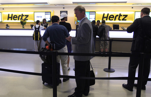 "(AP Photo/Paul Sakuma, file) Representatives for Hertz say it has an owners manual in every vehicle and ""prides itself on ensuring its customer-service employees have the tools available to address any vehicle operating questions."""