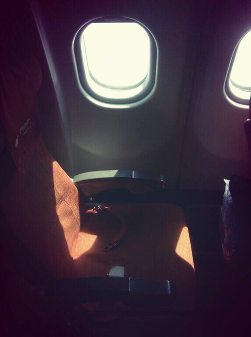 Light shines through a cabin window on seat 17A, the empty seat that an Aeroflot official said was booked in the name of former CIA technician Edward Snowden, shortly before Aeroflot flight SU150 takes off from Moscow to Havana, Cuba, Monday, June 24, 2013. Snowden, who has admitted to leaking National Security Agency secrets, was expected to fly from Russia to Cuba and Venezuela en route to possible asylum in Ecuador, but AP reporters on the flight never saw him get on board. (AP Photo/Max Seddon)