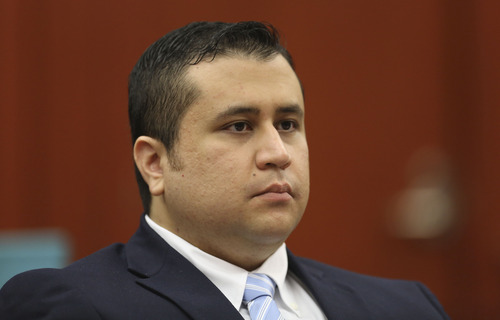 FILE - This June 20, 2013 file photo, George Zimmerman listens as his defense counsel Mark O'Mara questions potential jurors during Zimmerman's trial in Seminole circuit court in Sanford, Fla. Judge Debra Nelson said Saturday, June 22, 2013,  that prosecution audio experts who point to Trayvon Martin as screaming on a 911 call moments before he was killed won't be allowed to testify at trial.  Opening statement begin Monday June 24, 2013. (AP Photo/Orlando Sentinel, Gary Green, Pool, file)