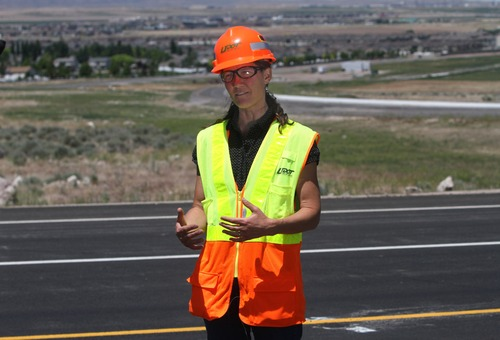 Rick Egan  | Tribune file photo Teri Newell, former project director of the Mountain View Corridor, has been named director of the Utah Department of Transportation's Region 3. She becomes the first woman regional director for the agency.
