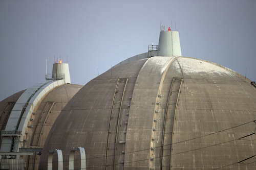 Gregory Bull  |  Associated Press file photo FILE - This Sept. 13, 2012 file photo shows the San Onofre nuclear power plant along the Pacific Ocean coastline in San Onofre, Calif. Two years after Japan's nuclear crisis, Alison Macfarlane, the top U.S. regulator, says American nuclear power plants are safer than ever, but not trouble-free.