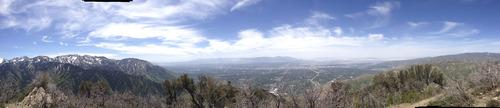Marissa Lang | The Salt Lake Tribune The view from the top of Grandeur Peak in Salt Lake City.