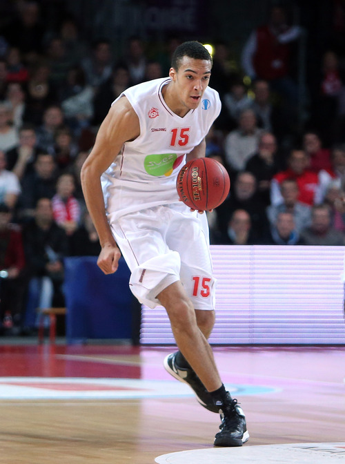 No. 22 Brooklyn Rudy Gobert France, center/forward, 7-foot-1, 235 pounds, 21 Strengths • Owns an eye-popping 7-9 wingspan. Improving physically, but must continue. Good hands. Makes free throws. History • He's played three professional seasons. Named best under-20 center at the 2012 European championships.
