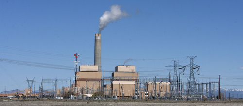 Steve Griffin | The Salt Lake Tribune  The Intermountain Power Plant near Delta, Utah Friday April 12, 2013.