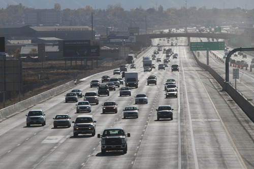 Rick Egan  |  Tribune file photo Completion of the nearly three year, $1 billion-plus project to rebuild I-15 through Utah County helped give drivers a smooth ride on the state's main highway -- where motorists logged nearly 6.5 billion miles last year.