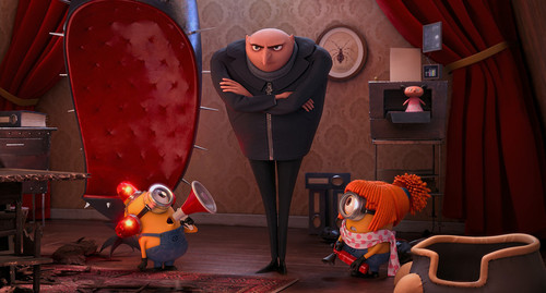 Gru (Steve Carell) has about had enough mischief in 'Despicable Me 2.' (Universal)