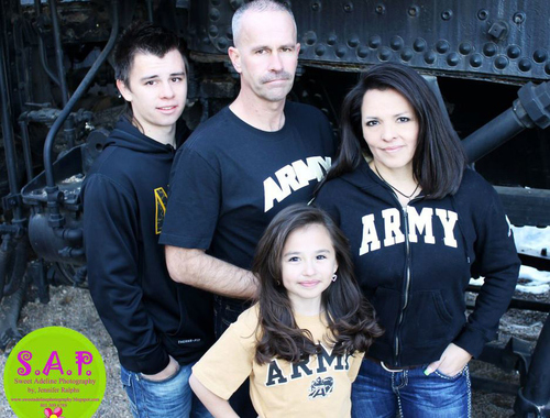 Photo courtesy of Stapely family | Army 1st Sgt. Tracey L. Stapley • Died in Qatar on Wednesday.