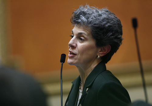 Scott Sommerdorf  l  Tribune file photo Rep. Patrice Arent, D-Millcreek, says hard questions need to be asked about money spent on an anti-wolf campaign.
