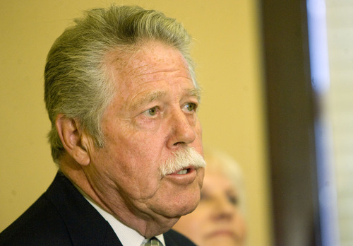 Kim Raff     Tribune file photo Utah Senate Minority Leader Gene Davis D-Salt Lake City, wants a legislative audit into the $300,000 annual contract for a lobby group to fight federal management of wolves.