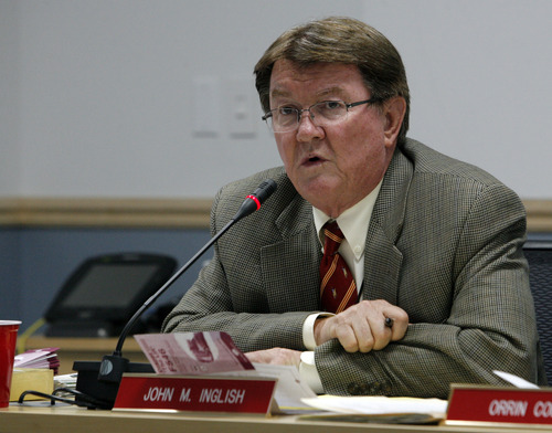 Tribune file photo Former Utah Transit Authority CEO John Inglish.