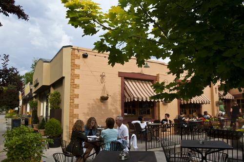 Chris Detrick  |  The Salt Lake Tribune People dine at Cucina Deli, 1026 2nd Ave in Salt Lake City, Friday July 5, 2013.