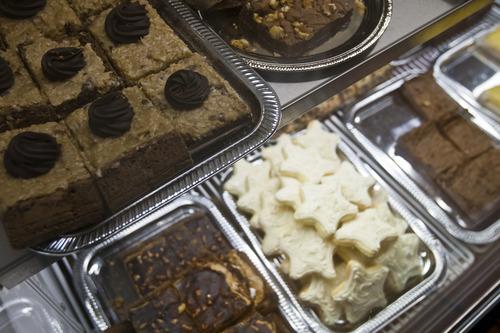 Chris Detrick  |  The Salt Lake Tribune Desserts on display at Cucina Deli, 1026 2nd Ave in Salt Lake City, Friday July 5, 2013.