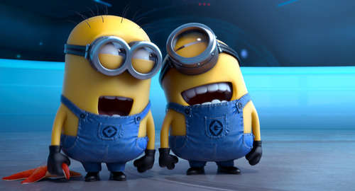 """This film publicity image released by Universal Pictures shows the minion characters in """"Despicable Me 2.""""  (AP Photo/Universal Pictures)"""