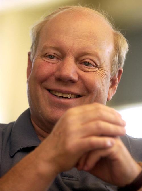 - Larry H. Miller in his office at Jordan Commons  Ryan Galbraith 06.23.05 Ê