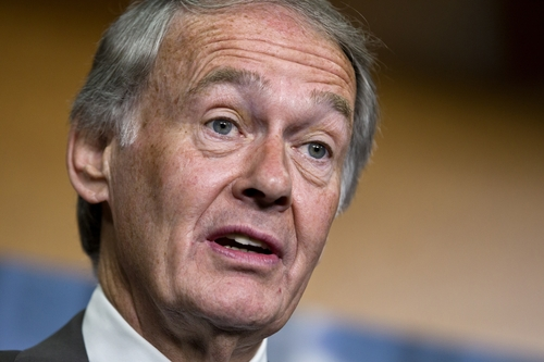 FILE - In this June 18, 2012 file photo, Rep. Ed Markey, D-Mass., now-Senator-elect, speaks on Capitol Hill in Washington. In the era of intense government surveillance and secret court orders, a murky multimillion-dollar market has emerged. Paid for by U.S. tax dollars, but with little public scrutiny, surveillance fees charged in secret by technology and phone companies can vary wildly. In its letter to Markey, AT&T estimated that it collected $24 million in government reimbursements between 2007 and 2011. Verizon, which had the highest fees but says it doesn't charge in every case, reported a similar amount, collecting between $3 million and $5 million a year during the same period. (AP Photo/J. Scott Applewhite, File)