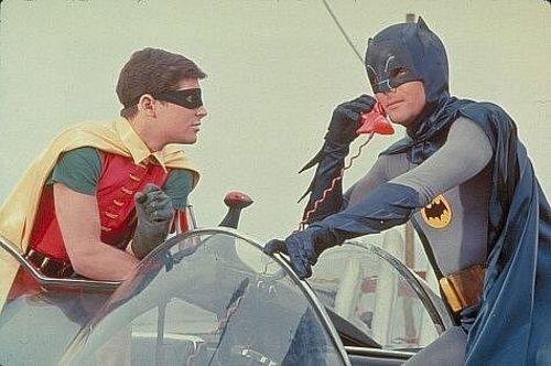 Burt Ward (left) and Adam West, TV's original Batman and Robin, will attend the first Salt Lake Comic Con in September.