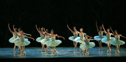"Steve Griffin   The Salt Lake Tribune Ballet West dancers perform ""Cinderella"" at dress rehearsal on Feb. 13, 2013."