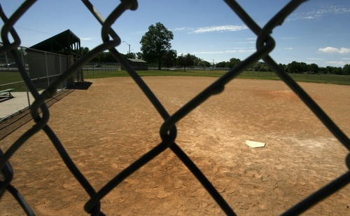 Leah Hogsten  |  The Salt Lake Tribune The Sandlot's Little League Field located at the Rose Park Baseball Diamond, 1450 West, 600 North.   The Glendale neighborhood field in Salt Lake City where the movie The Sandlot was filmed in 1993 is overgrown with weeds and since filming stopped, it has not been used for baseball. The Utah Film Commission has considered rebuilding the field and holding a 20-year reunion. SLC 7/6/10
